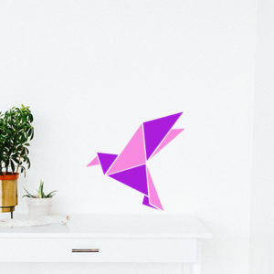 AR509 decor origami grue